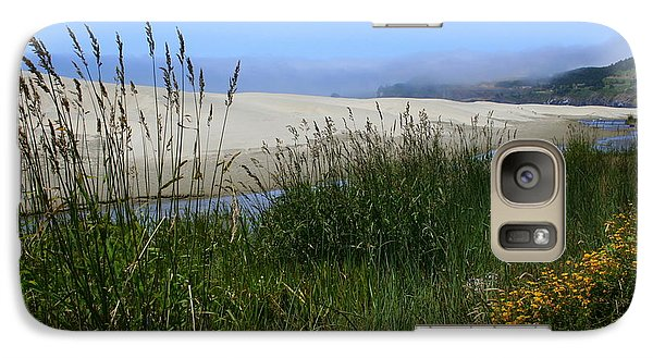 Galaxy Case featuring the photograph Coastal Grasslands by Debra Kaye McKrill