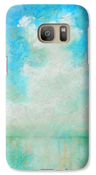Galaxy Case featuring the painting Coastal by Pam Talley