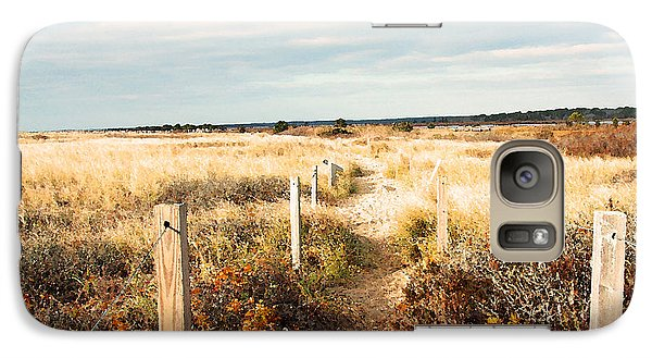 Galaxy Case featuring the photograph Coastal Trail by Brooke T Ryan