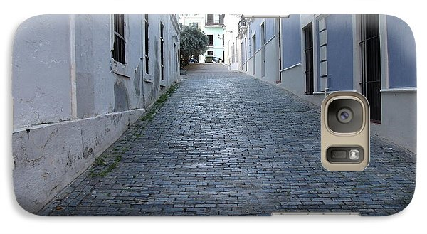 Galaxy Case featuring the photograph Cobble Street by David S Reynolds