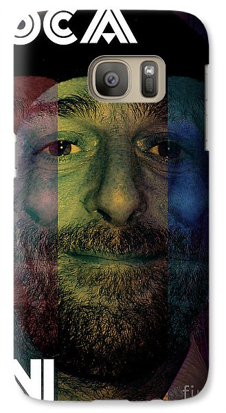 Galaxy Case featuring the photograph Coca In  One by Sir Josef - Social Critic - ART
