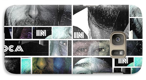 Galaxy Case featuring the photograph Coca In Part 4 Collage by Sir Josef - Social Critic - ART