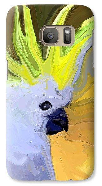 Cockatoo Galaxy S7 Case by Chris Butler