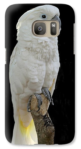 Galaxy Case featuring the photograph Cockatoo Cutie by Myrna Bradshaw