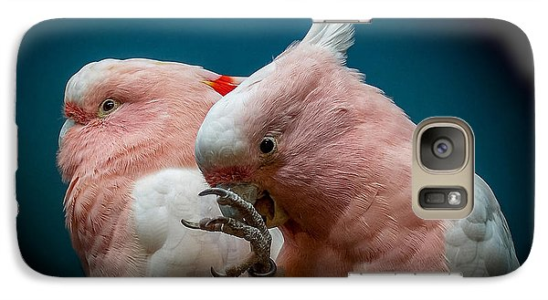 Cockatoos Galaxy S7 Case by Ernie Echols