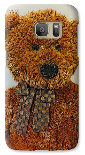 Galaxy Case featuring the digital art Coco by Steven Richardson