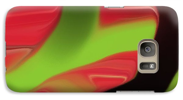 Galaxy Case featuring the digital art 4 Year Old Cody's New Painting by Aaron Berg
