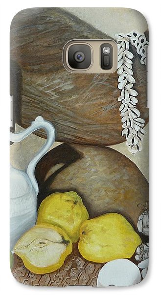 Galaxy Case featuring the painting Coffee Pot by Helen Syron