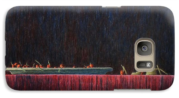 Galaxy Case featuring the painting Coffer by A  Robert Malcom