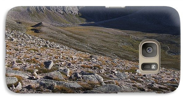 Galaxy Case featuring the photograph Coire An T' Sneachda - Cairngorm Mountains by Phil Banks