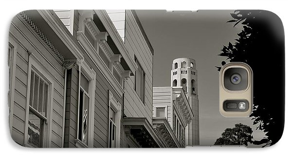 Galaxy Case featuring the photograph Coit Tower by Alex King
