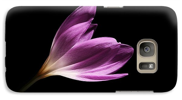 Galaxy Case featuring the photograph Colchicum  by Judy Whitton