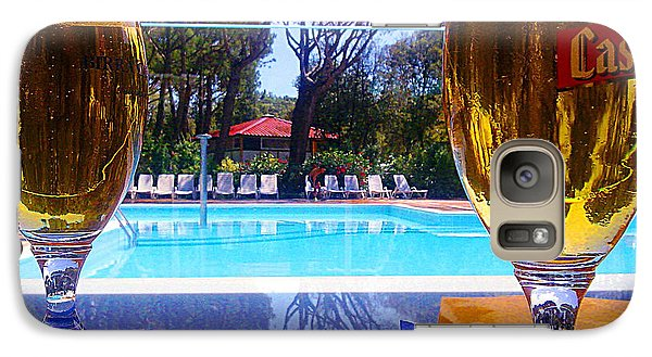 Galaxy Case featuring the photograph Cold Beers by Giuseppe Epifani