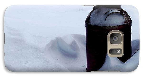 Galaxy Case featuring the photograph Cold Milk by Linda Cox