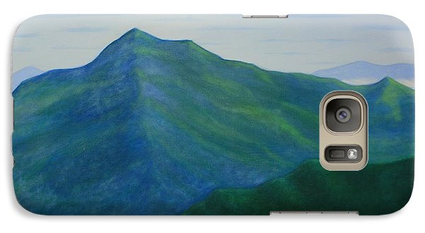 Galaxy Case featuring the painting Cold Mountain by Stacy C Bottoms