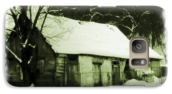 Galaxy Case featuring the photograph Countryside Winter Scene by Nina Ficur Feenan