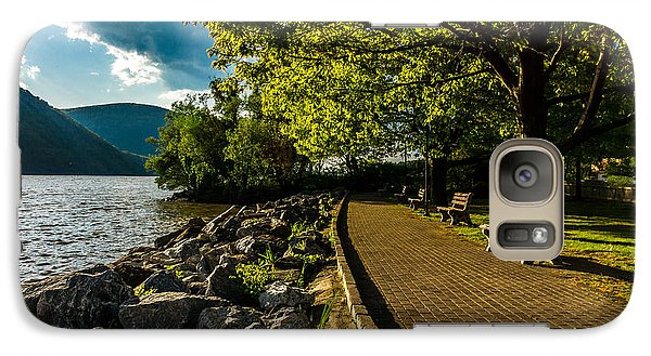 Galaxy Case featuring the photograph Cold Spring By The Hudson by Rafael Quirindongo