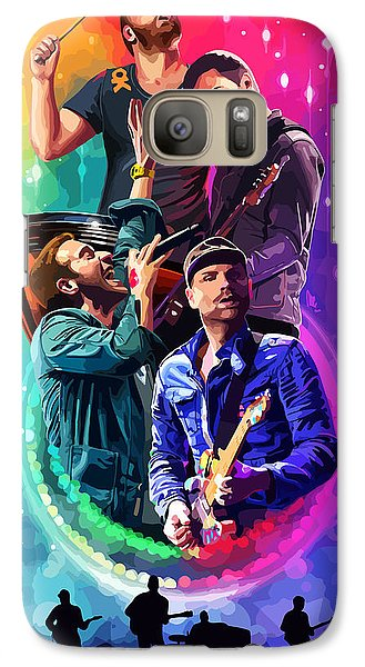 Coldplay Mylo Xyloto Galaxy S7 Case by FHT Designs