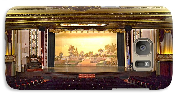 Galaxy Case featuring the photograph Coleman Theatre by Utopia Concepts