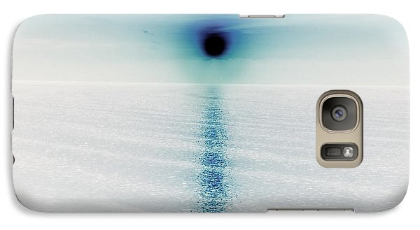 Galaxy Case featuring the photograph Collapsing Sun by Joy Angeloff