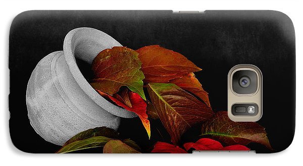 Galaxy Case featuring the photograph Collecting The Autumn Colors by Marwan Khoury
