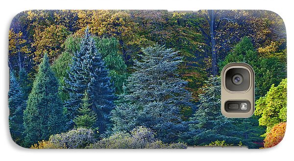 Galaxy Case featuring the photograph Collection Of Autumn Colors by Gary Slawsky