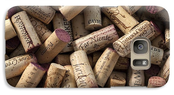 Collection Of Fine Wine Corks Galaxy S7 Case by Adam Romanowicz