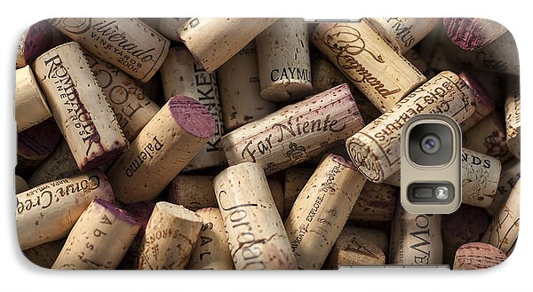 Collection Of Fine Wine Corks Galaxy S7 Case
