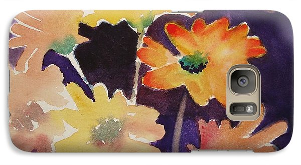 Galaxy Case featuring the painting Color And Whimsy by Marilyn Jacobson