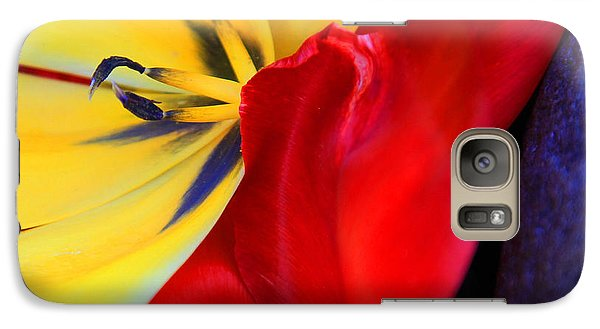 Galaxy Case featuring the photograph Color Kiss by Jeanette French