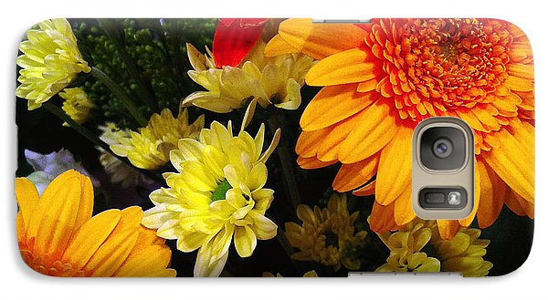 Galaxy Case featuring the photograph Color Me Bright by Meghan at FireBonnet Art