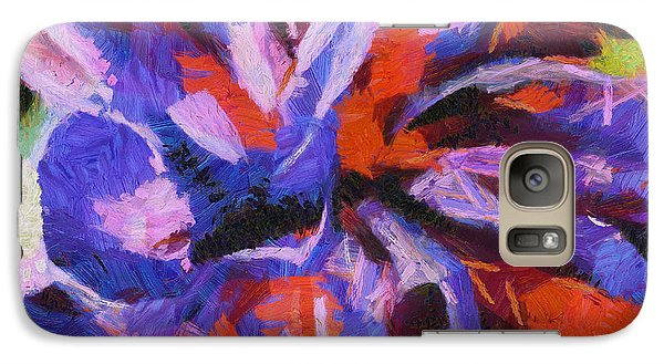 Galaxy Case featuring the digital art Color My Insecurity by Joe Misrasi
