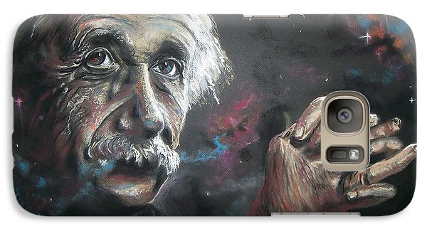 Galaxy Case featuring the pastel Color My Universe by Peter Suhocke