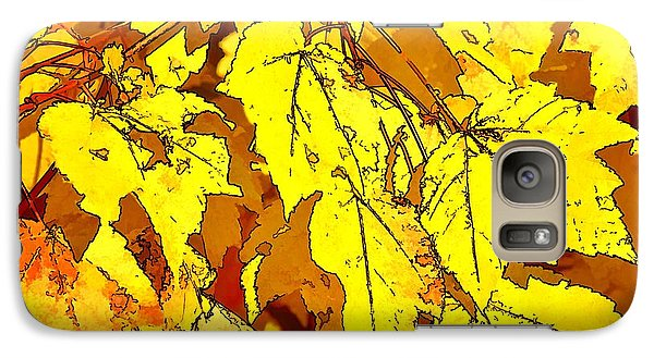 Galaxy Case featuring the photograph Color Of Fall by Ludwig Keck