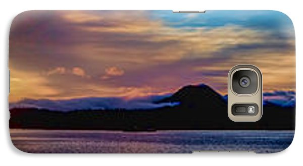 Galaxy Case featuring the photograph Color On The Horizon by Timothy Latta