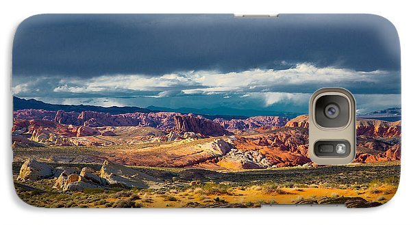 Galaxy Case featuring the photograph Color Storm by Jim Snyder
