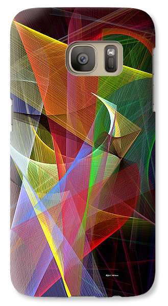 Galaxy Case featuring the digital art Color Symphony by Rafael Salazar