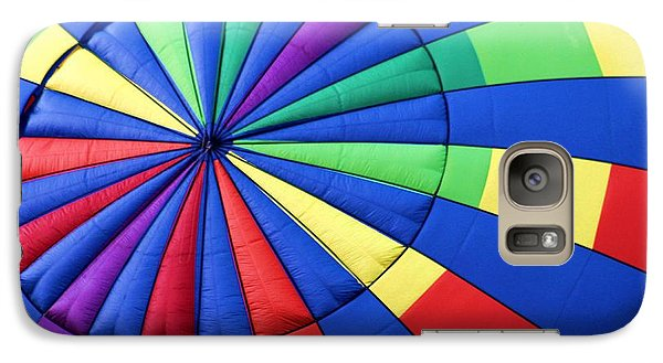 Galaxy Case featuring the photograph Color Wheel by Laurinda Bowling