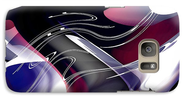 Galaxy Case featuring the digital art Color Works by rd Erickson