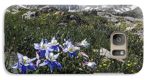 Colorado Columbines Galaxy S7 Case