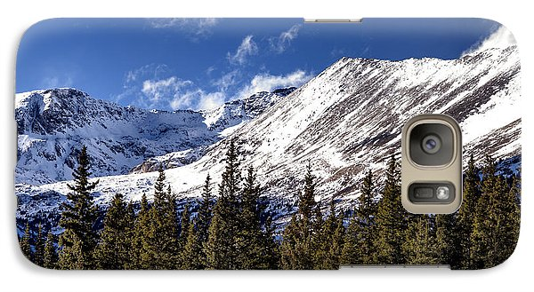 Galaxy Case featuring the photograph Colorado High by The Forests Edge Photography - Diane Sandoval