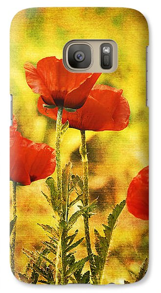 Galaxy Case featuring the photograph Colorado Poppies by Tammy Wetzel