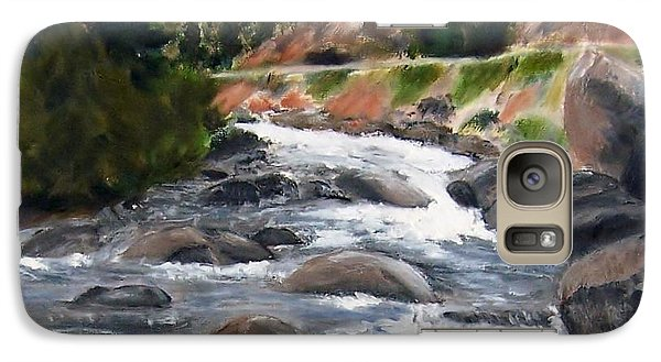 Galaxy Case featuring the painting Colorado Rapids by Jamie Frier
