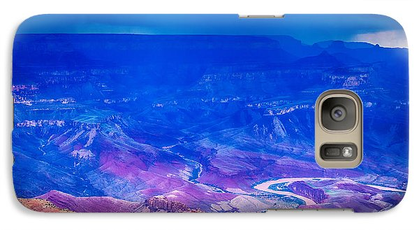 Galaxy Case featuring the photograph Colorado River by James Bethanis