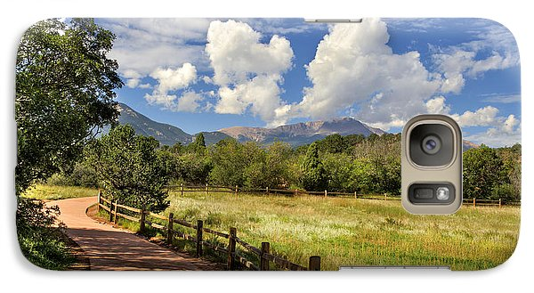 Galaxy Case featuring the photograph Colorado Scenic Pathway by Cheryl Davis