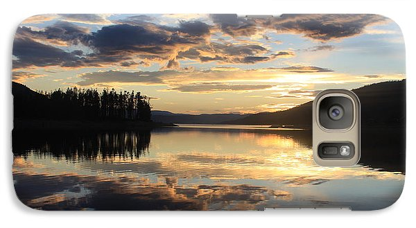 Galaxy Case featuring the photograph Colorado Sunset by Chris Thomas