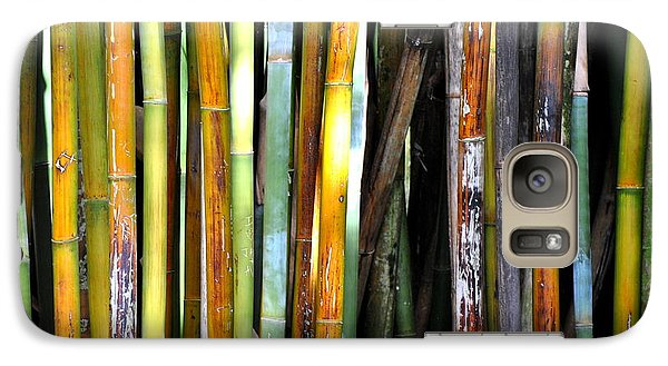 Galaxy Case featuring the photograph Colorful Bamboo by Jodi Terracina
