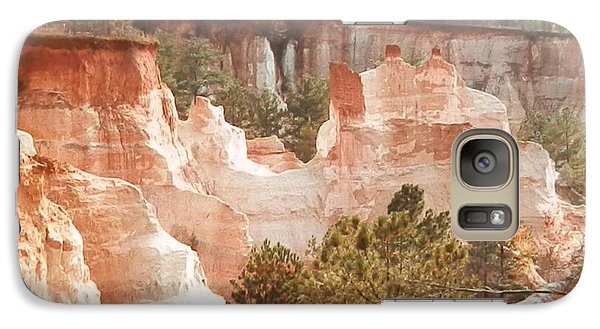 Galaxy Case featuring the photograph Colorful Georgia Canyon Wonder by Belinda Lee
