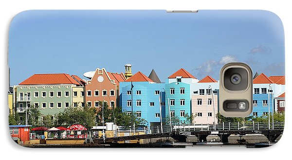 Galaxy Case featuring the photograph Colorful Curacao by Living Color Photography Lorraine Lynch