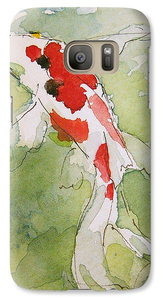 Colorful Fantail Goldfish 3 Galaxy S7 Case by Tracie Thompson